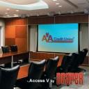Draper Access/V HDTV (9:16) 302/119'' 147x264 HDG ebd 12''