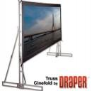 Draper Truss-Style Cinefold NTSC (3:4) 762/300'' 457x610 MW